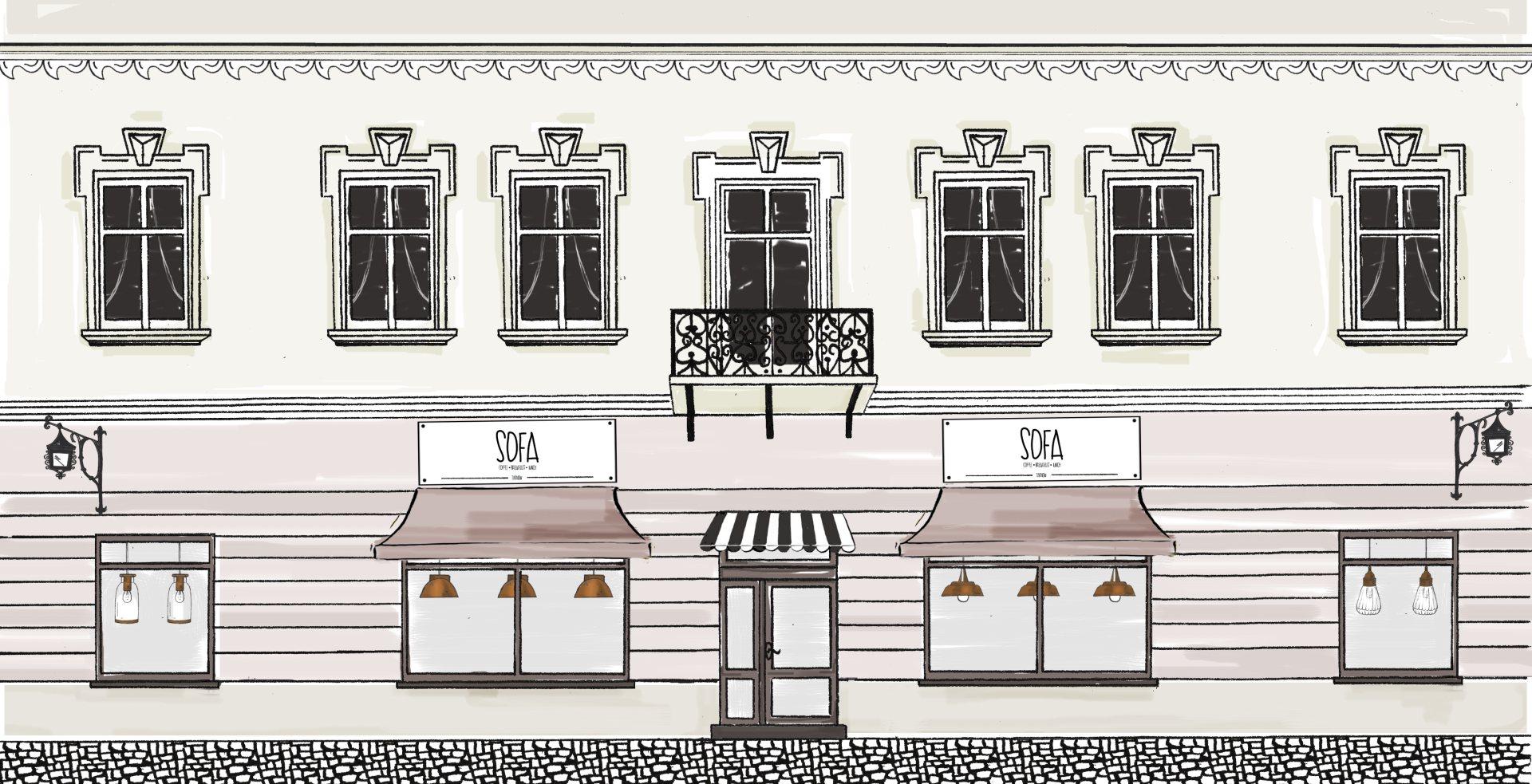 ilustracja budynku Sofa 1920px